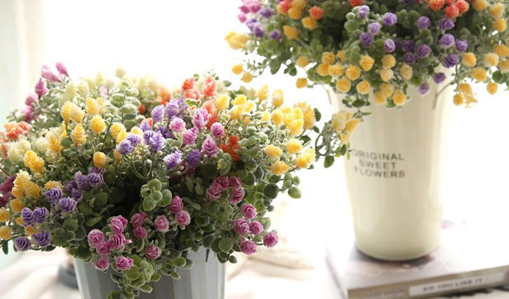 Где используются искусственные цветы