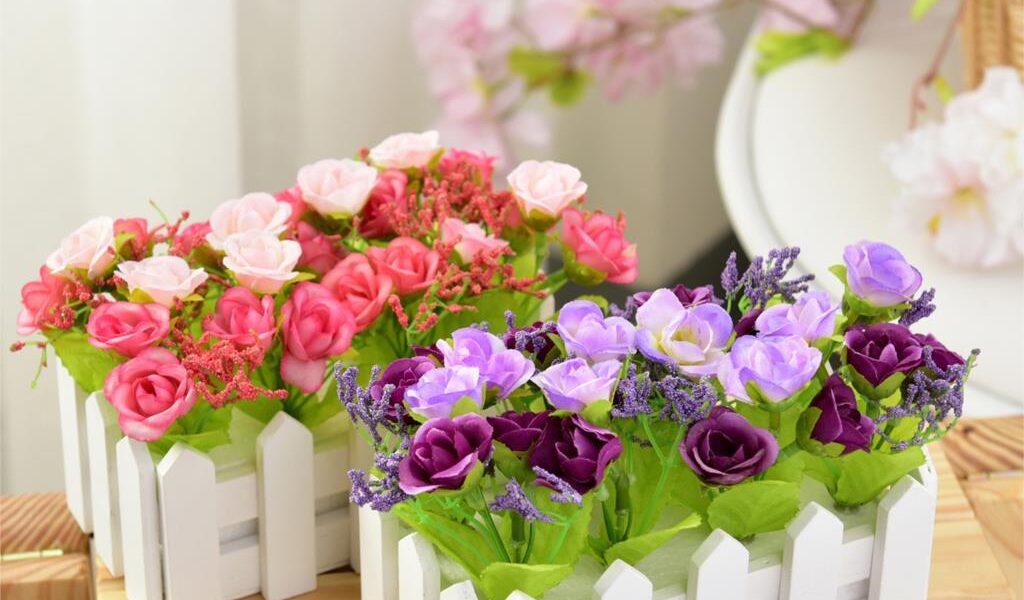 Как правильно ухаживать за искусственными цветами