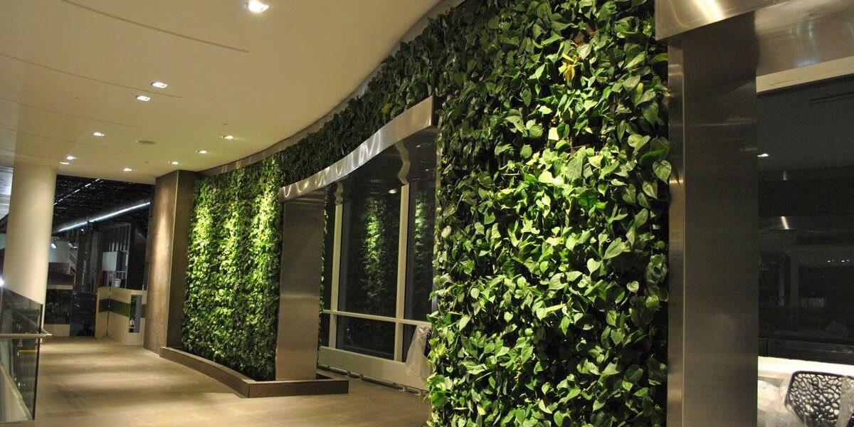 Искусственные растения в декорировании кафе, ресторанов и отелей